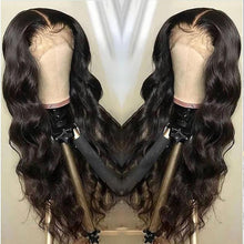 Load image into Gallery viewer, (OVER $48 Free Shipping Today)--Brazilian Body Wave Wig Pre Plucked Lace Wig Remy Hair Wig Lady Wig