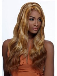 Blonde Cheap African American Sexy  Wave Wigs