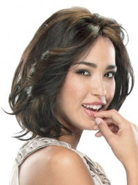 Monofilament Medium Brown Gorgeous Wigs