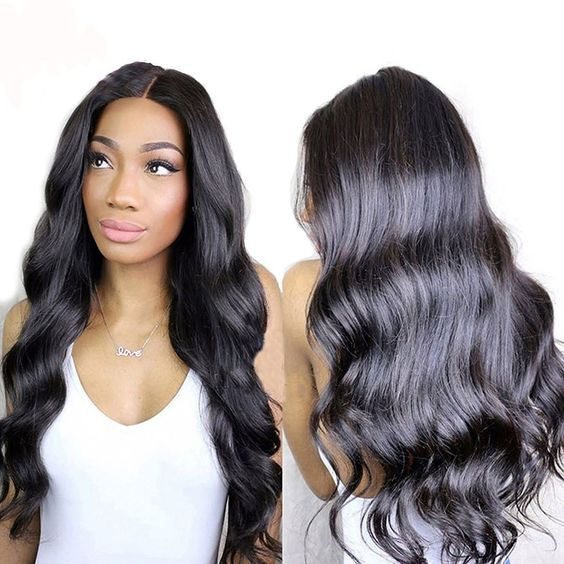360 Lace Wave Wigs Human Hair Wigs Pre Plucked For Women high Density Wigs