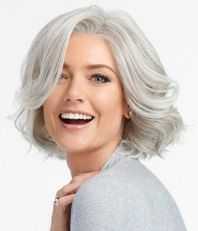 8''Charming  Front Lace Short Wave Wig 100% Human Hair