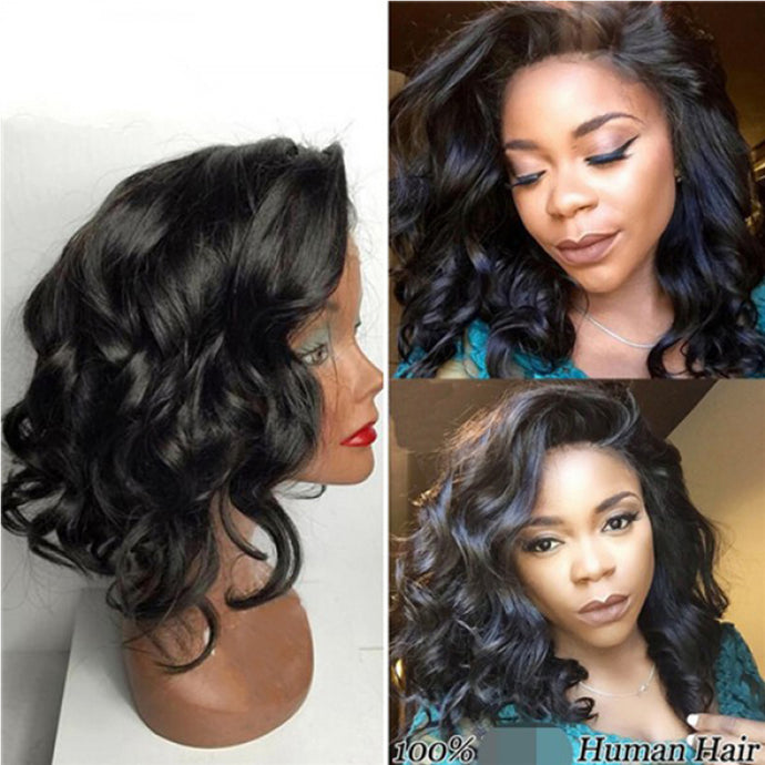 Lace Bob Wig Loose Wave