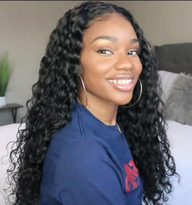 2019 NEW Super Natural  Long Curly Wig