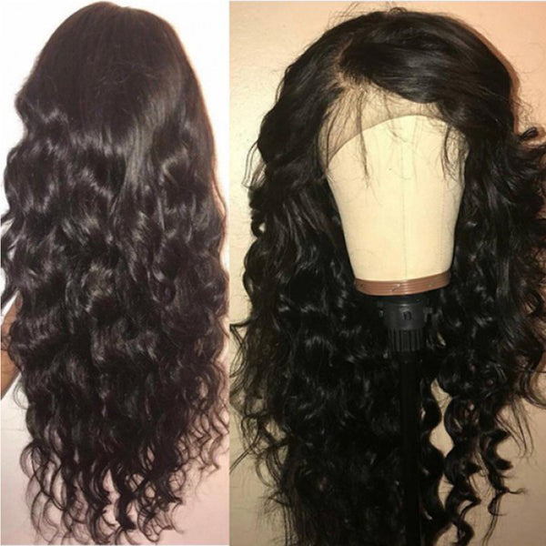 Lace Wig Peruvian More Wave Human Hair Wig
