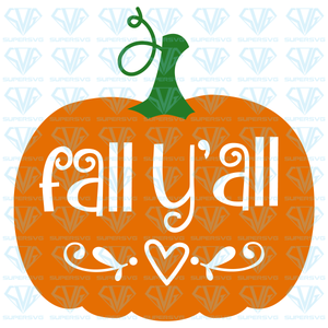 Fall Y'all, svg, png, dxf, eps file