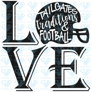 Football Love, helmet svg, png, dxf, eps file