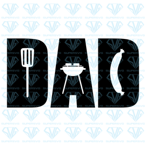 Grill Dad, svg, png, dxf, eps file