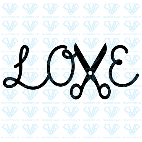 Love, svg, png, dxf, eps file