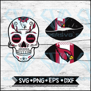 Arizona Cardinals Svg, NFL Svg, Bundle, Svg, Cricut File, Football Svg, Skull Svg