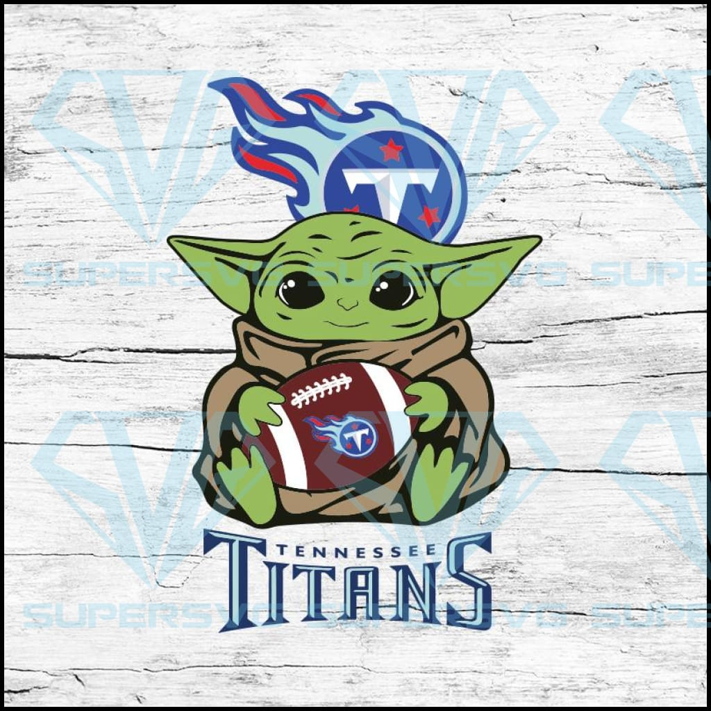 Baby Yoda Star Wars, Tennessee Titans Svg, NFL Svg, Football Svg, Cricut File, Svg