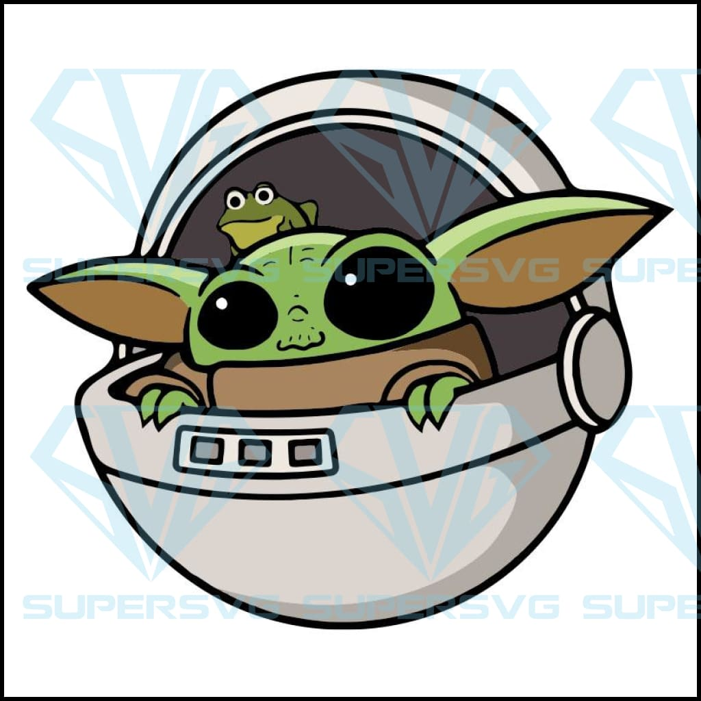 Baby Yoda Svg Files For Silhouette Files For Cricut Svg Dxf Eps P Supersvg
