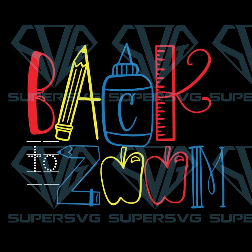 Back to zoom Svg, Funny school Svg,Teacher mug Svg, Back to school Svg, Cricut File, Quarantined