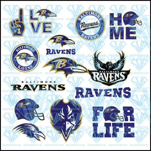 Baltimore Ravens, svg, png, dxf, eps file
