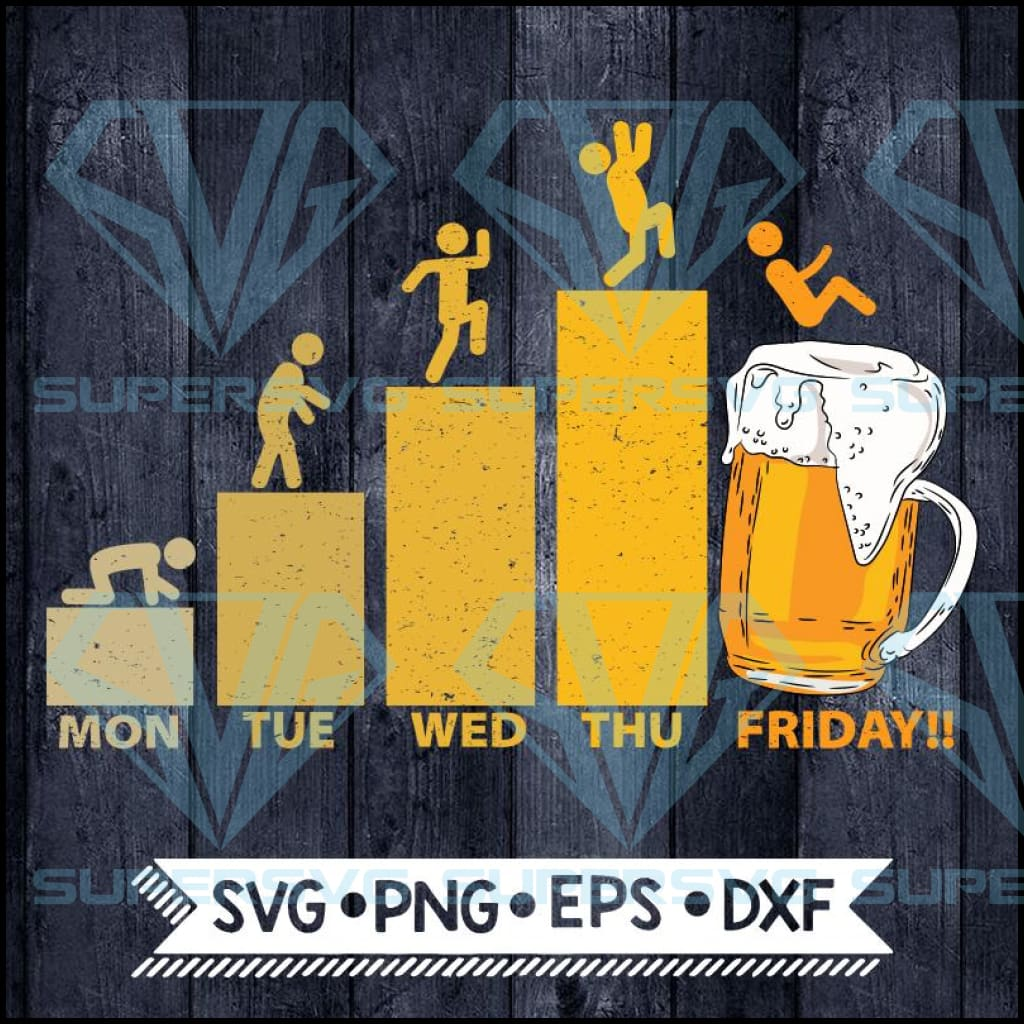 Beer Lover, Beer Weekend, Funny SVG PNG DXF EPS Download Files