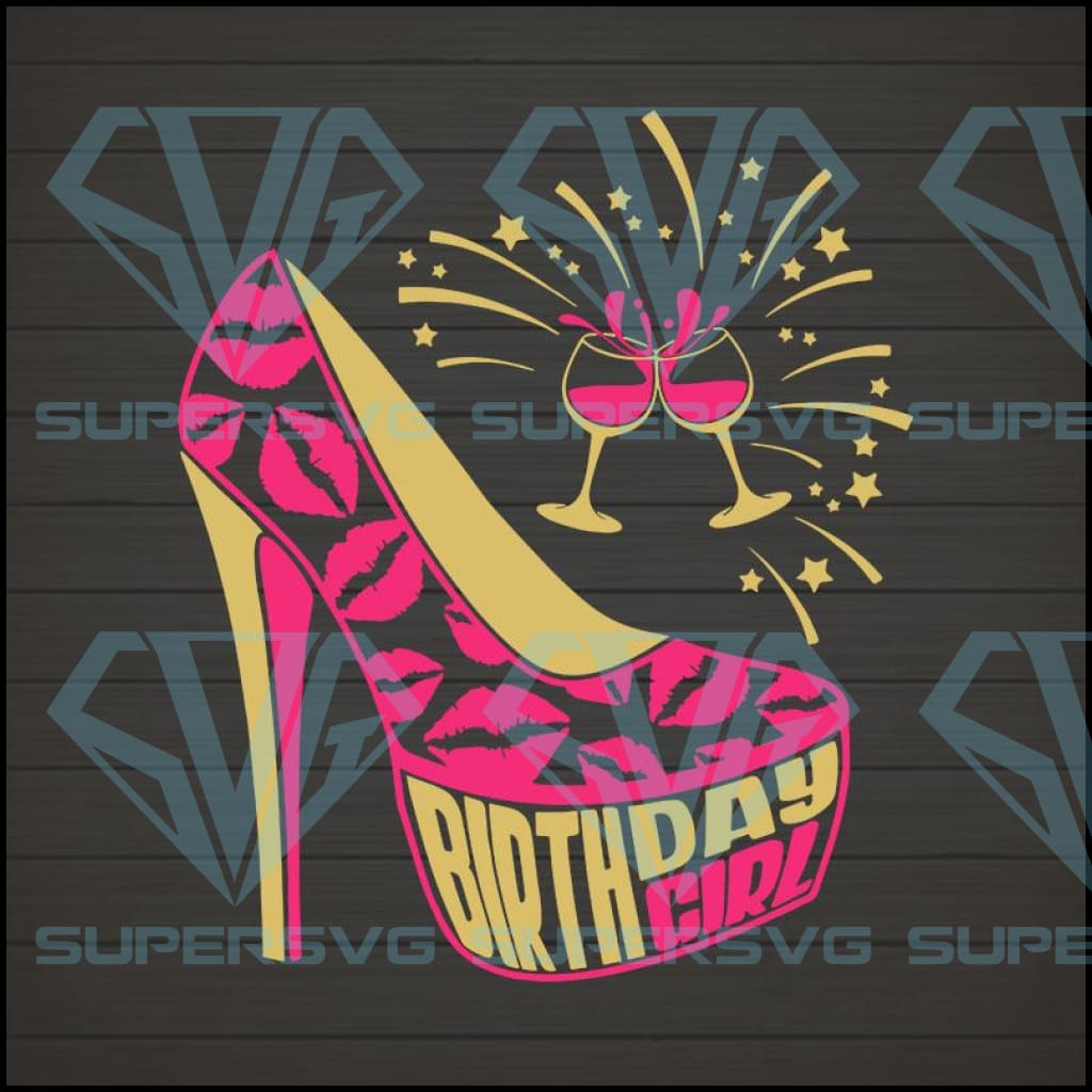 Birthday Girl 3 SVG PNG DXF EPS Download Files