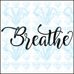 Breathe, svg, png, dxf, eps file