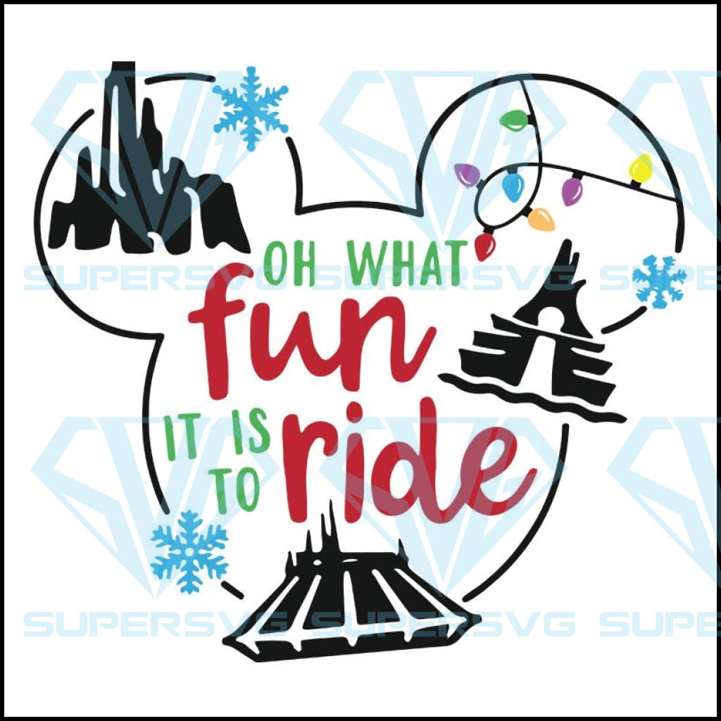 Disney Christmas Svg Disney Parks Svg Mickey Svg Supersvg