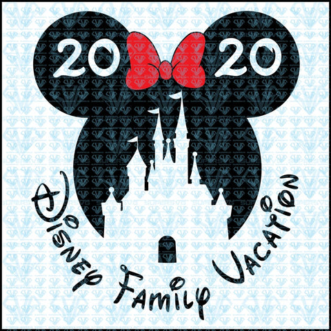 Disney Family Vacation Svg Files For Silhouette Cricut Dxf Eps Png Instant Download