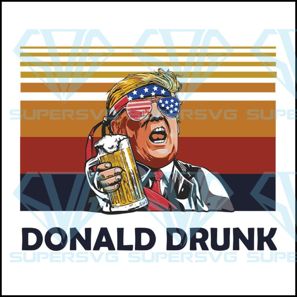 Donald Drunk svg, Merica Trump, Unisex Shirt, 4th Of July, Donald Trump, Don Drunk, Drinking Buddy Alcohol Gift, 4th Of July