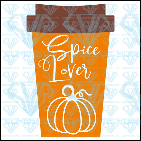 Pumpkin Spice Lover, svg, png, dxf, eps file