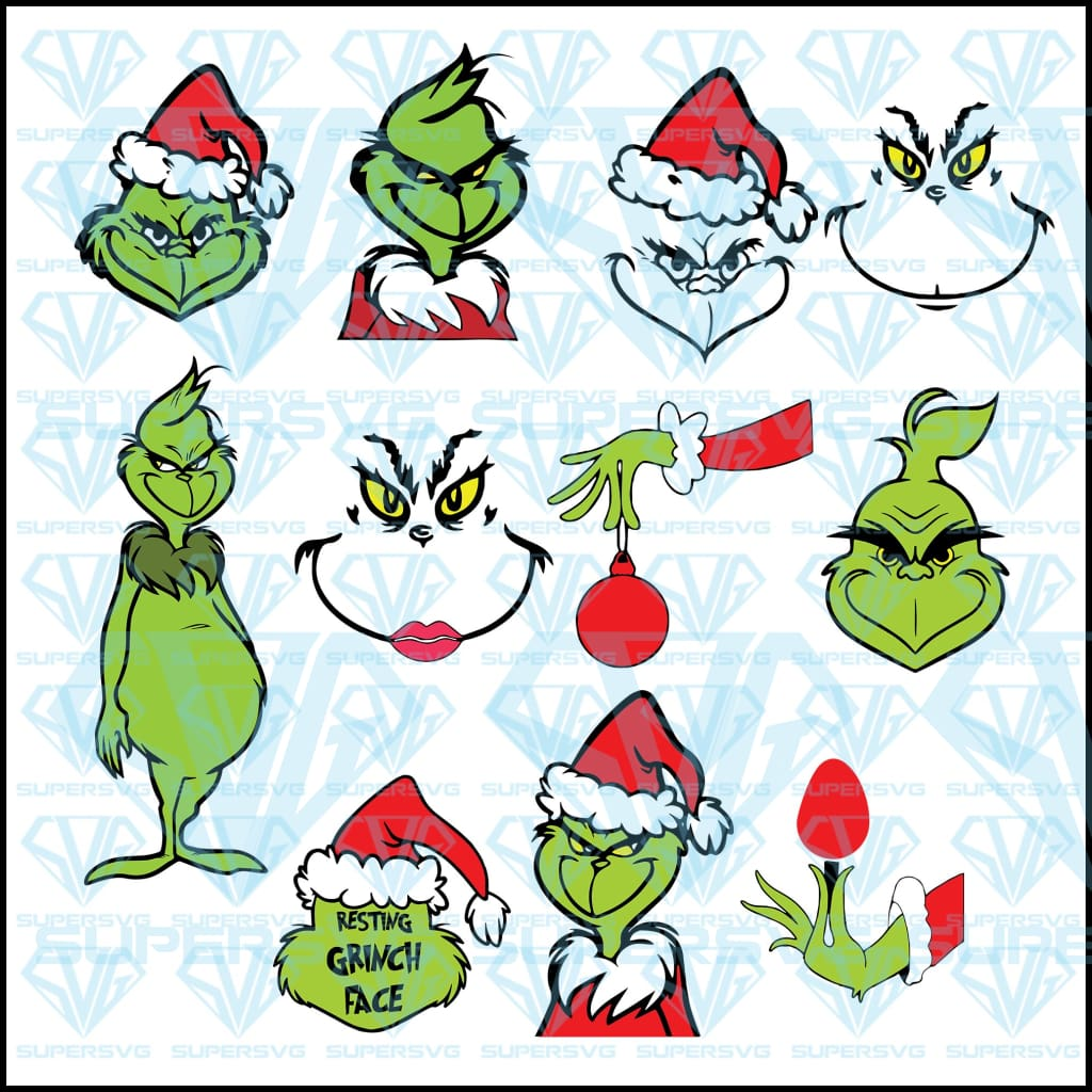 Grinch Christmas Bundle, Grinch Christmas Bundle