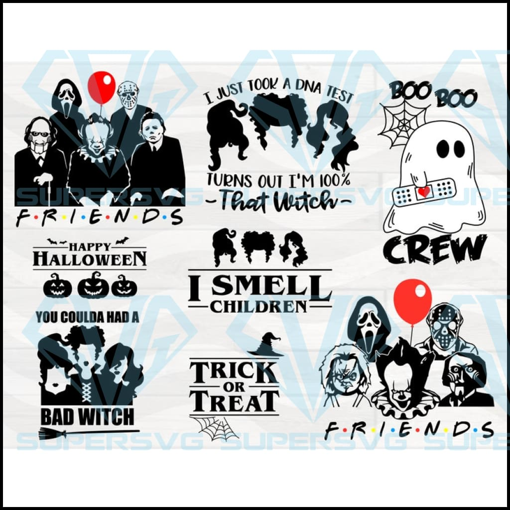 Halloween Friend Horror Svg, Halloween png File