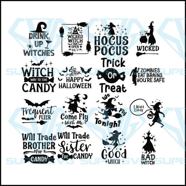 Halloween Svg Costume Svg Witch Svg Hocus Pocus Svg Funny Quotes Supersvg