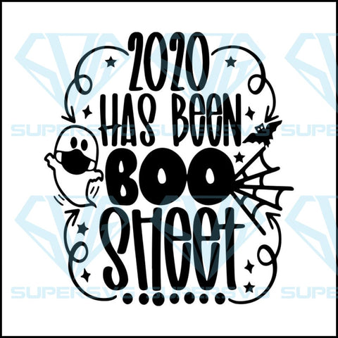 Halloween SVG, fall Trick or treat svg, 2020 has been boo sheet svg, humor Halloween svg, night ghost svg, pandemic costume