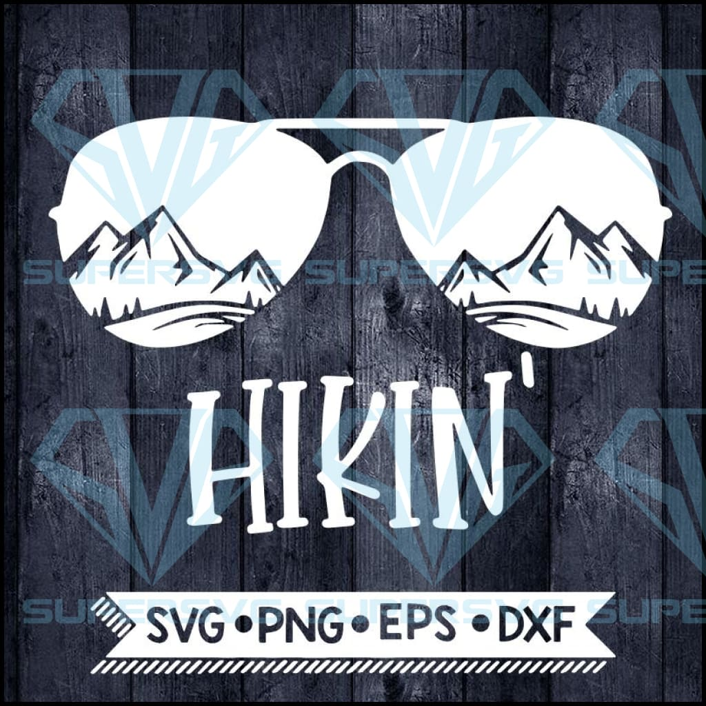 Hikin Svg, Camping Svg, Cricut File, Svg, Outdoor Svg, Silhouette Cameo