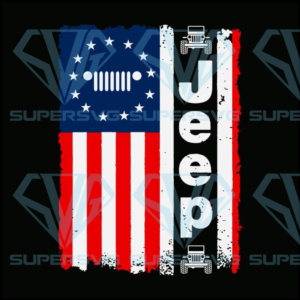 Jeep America Flag SVG, Jeep 4th Of July SVG, Fourth Of July svg, Jeep Car Flag SVG,american flag svg,independence day, independence day svg, happy 4th of july svg,patriotic svg,