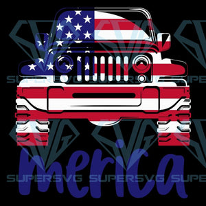 Jeep merica flag,4th of july svg,independence day,american flag,USA patriotism, happy 4th of july svg,independence day svg, american flag svg, american svg, patriotic day svg,