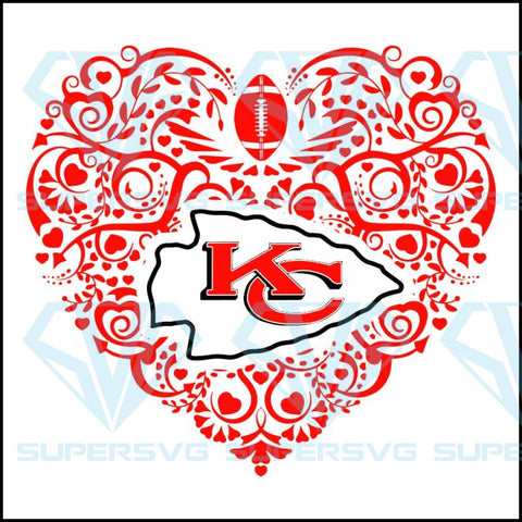 Kansas City Chiefs Svg Files For Silhouette Cricut Dxf Eps Png Instant Download2