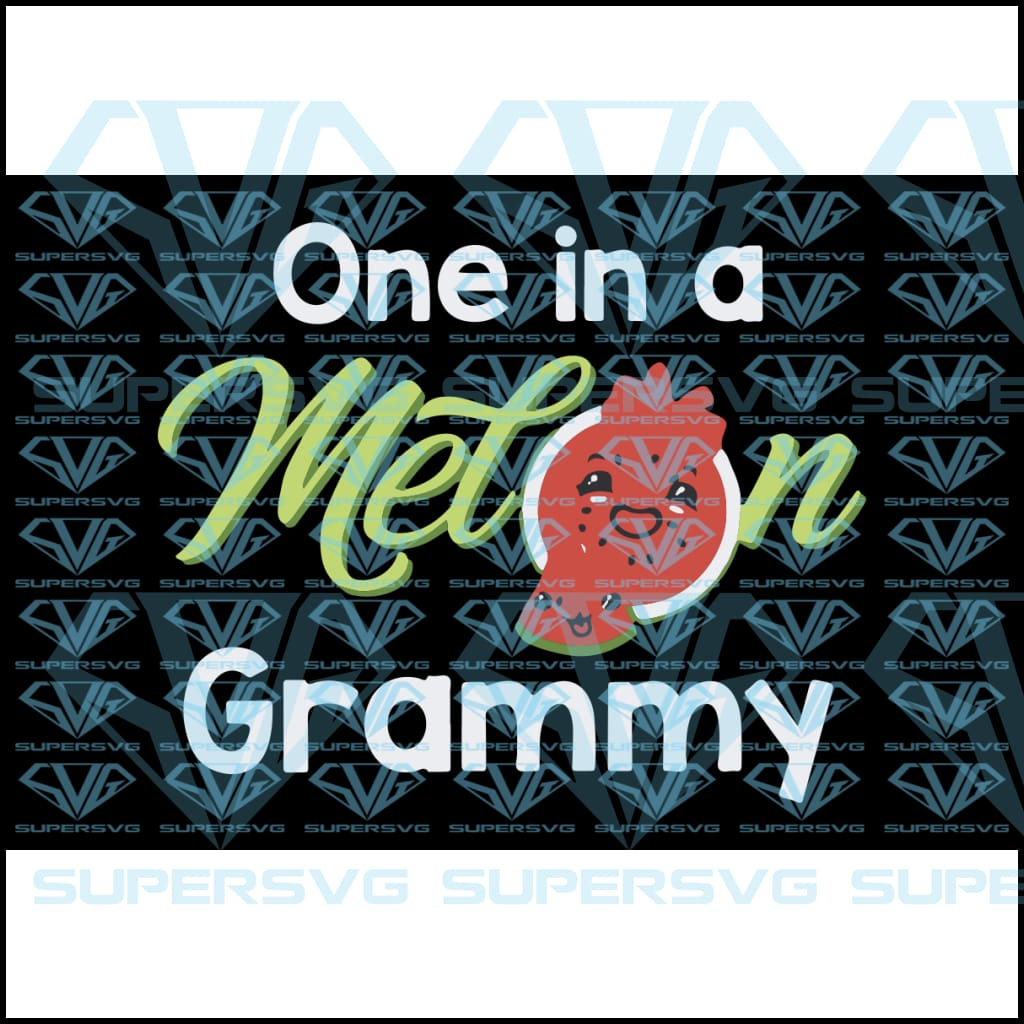 One In A Melon Grammy, svg, png, dxf, eps file