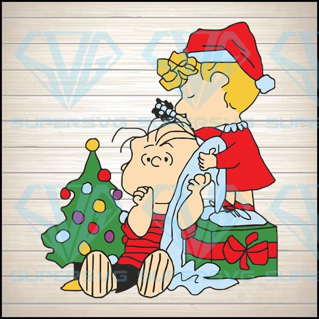 Peanuts Christmas svg,Charlie Brown Christmas svg Digital Download