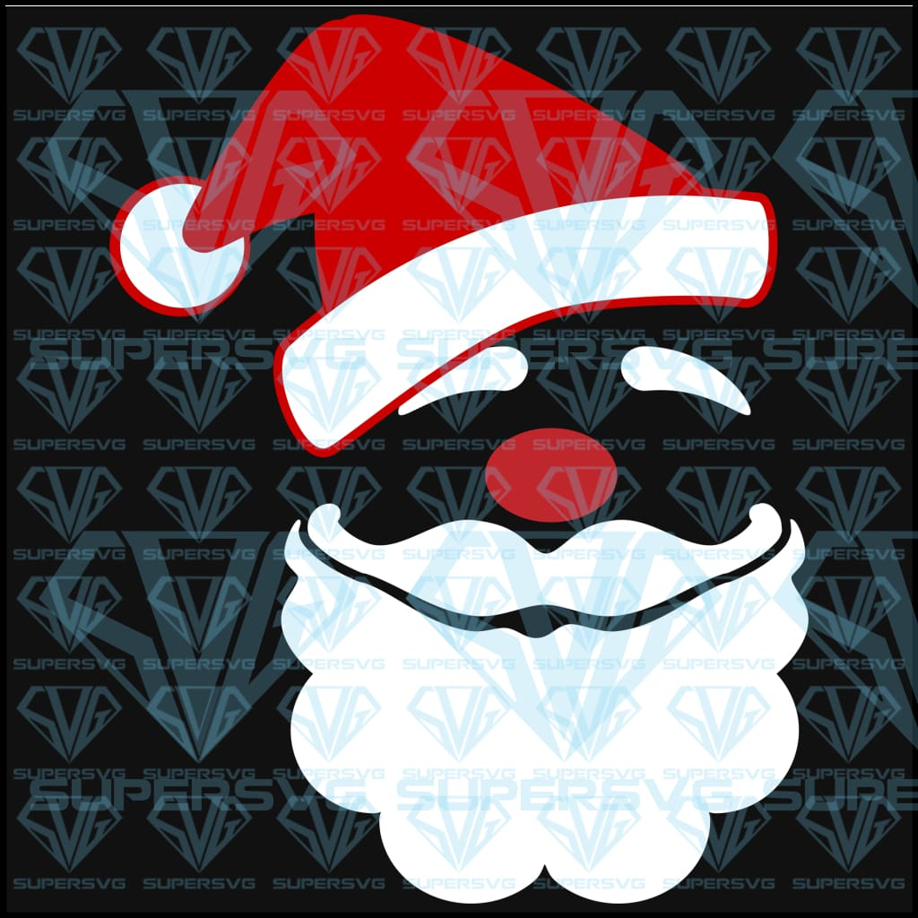 Free Svg Files Santa Claus SVG Files For Silhouette, Files For Cricut, SVG, DXF, EPS, PNG  Instant Download