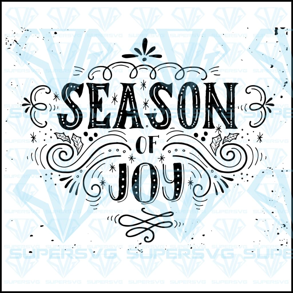 Season Joy Christmas, svg, png, dxf, eps file