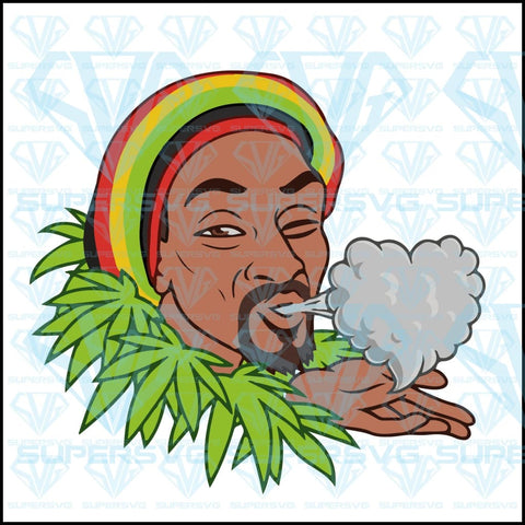 snoop dogg is smoking, funny, heart, svg, png, dxf, eps file