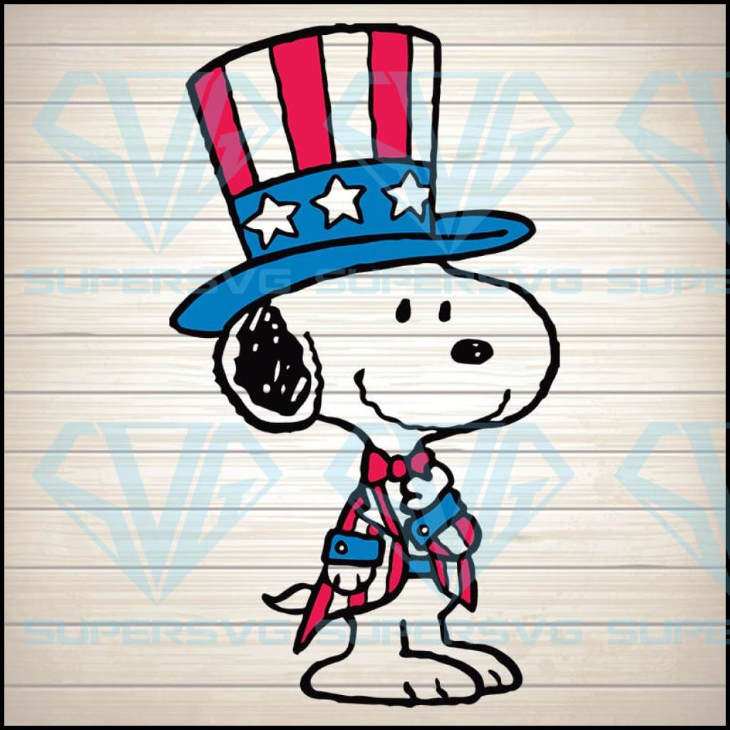 Snoopy Flag US, 4th of july svg, american svg, patriotic svg, amrican flag svg, 4th july svg