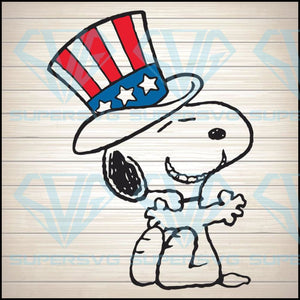 Snoopy Flag US Funny, 4th of july svg, american svg, patriotic svg, amrican flag svg, 4th july svg