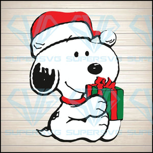 Snoopy Merry Christmas svg, Merry Christmas svg Digital Download