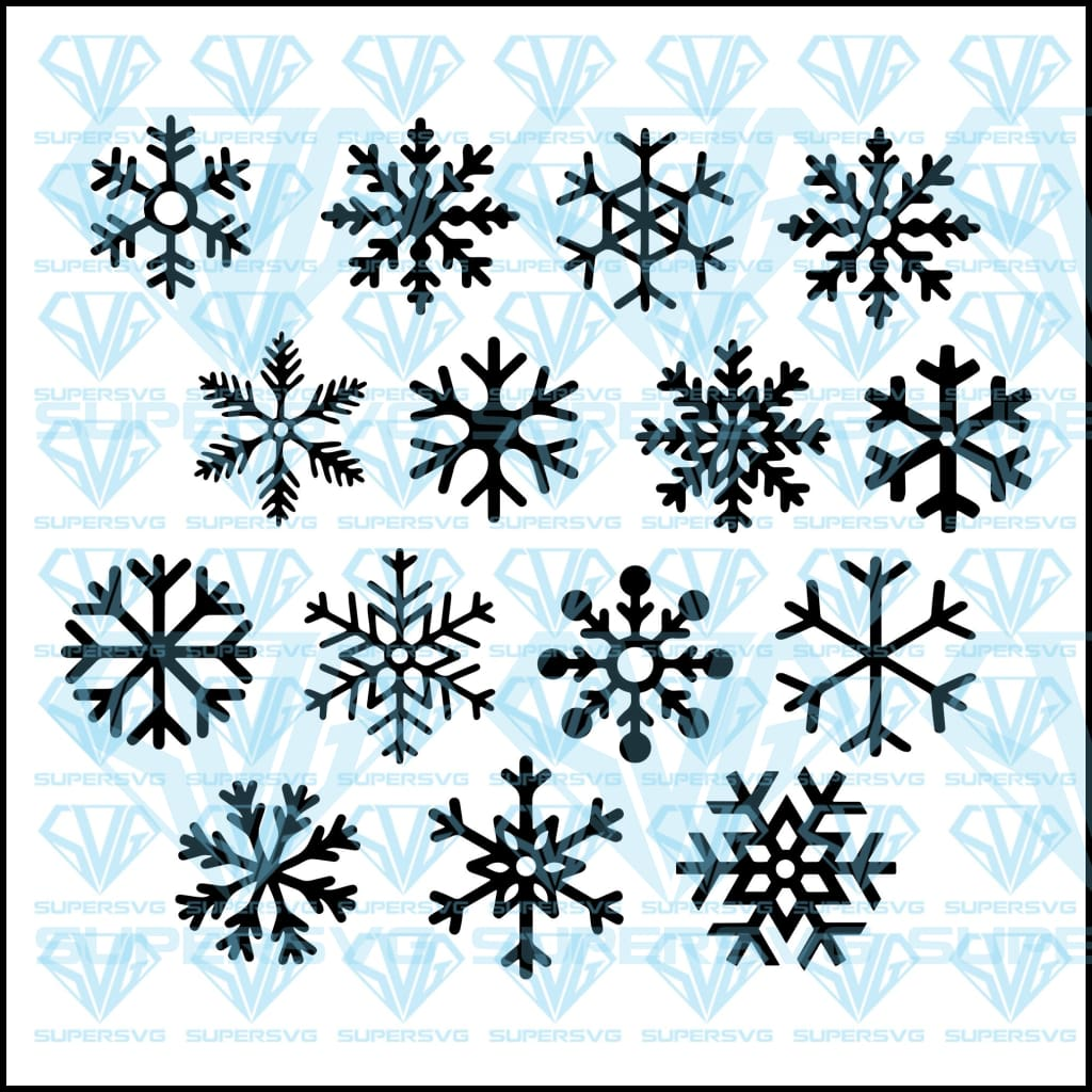 Snowflake, Flake Winter, Christmas, svg, png, dxf, eps file