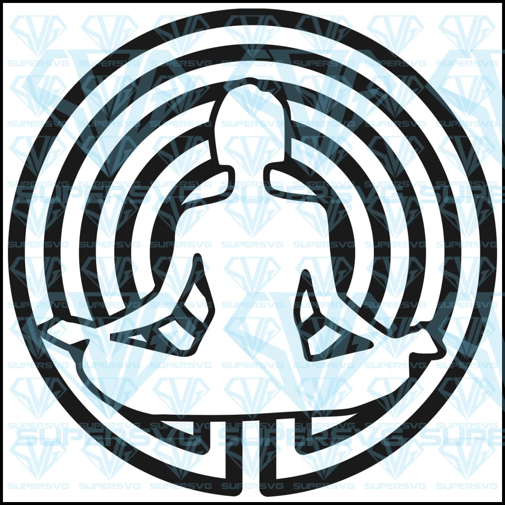 Meditation Spiral, svg, png, dxf, eps file