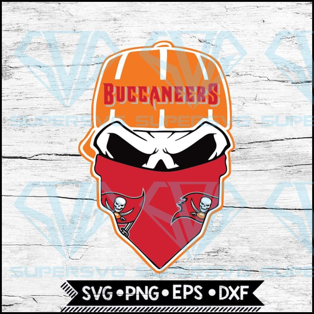 Tampa Bay Buccaneers Svg, NFL Svg, Skull Svg Files For Cricut, Football Svg, Cricut File, Svg
