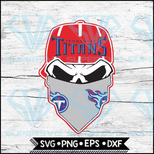 Tennessee Titans Svg, NFL Svg, Skull Svg Files For Cricut, Football Svg, Cricut File, Svg