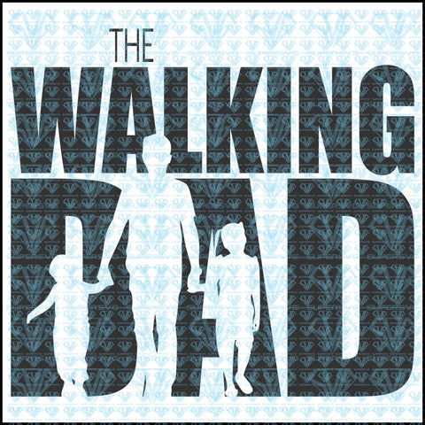 The Walking Dad Svg Files For Silhouette Cricut Dxf Eps Png Instant Download