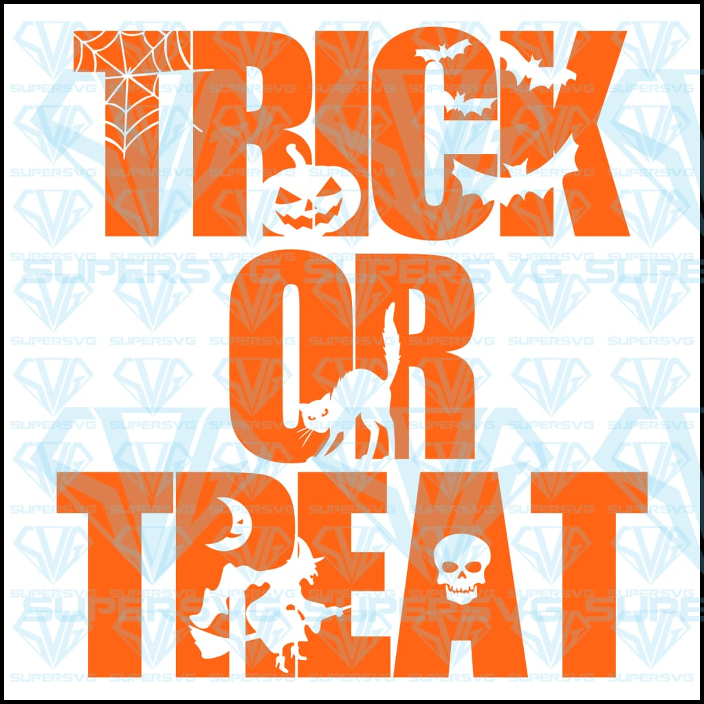 Trick Or Treat, svg, png, dxf, eps file