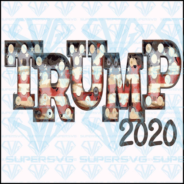 Trump 2020 Marquee Lights Trump Trump Train Lights Svg Files For Sil Supersvg
