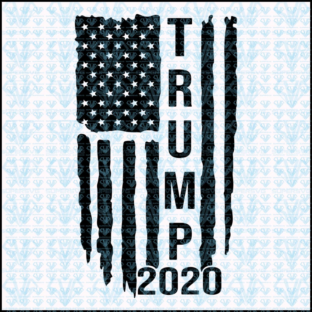 Trump 2020 Svg Files For Silhouette Files For Cricut Svg Dxf Eps Supersvg