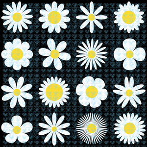 White Daisy Chamomile Icon Camomile Svg Files For Silhouette Cricut Dxf Eps Png Instant Download
