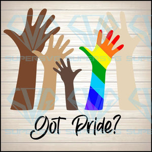Who has Pride? Rainbow SVG PNG DXF EPS Download Files